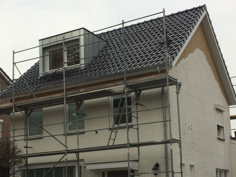 Vergroting zolder met dakkapellen
