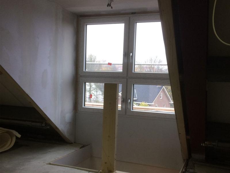 Vergroting zolder door dakkapel
